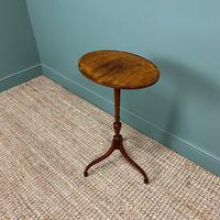 Elegant Sycamore and Yew Antique Wine Table (4 of 6)