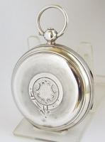 Antique silver Lancashire Watch Company Pocket Watch. (2 of 5)