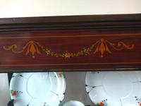 Pair of Edwardian Glazed Mahogany Display Cabinet with 2 Shelves (7 of 8)