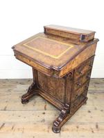 Victorian Walnut Davenport Desk (2 of 10)