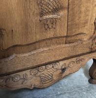 French Early Oak Small Cupboard or Cabinet (14 of 16)