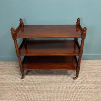 Quality Antique Victorian Mahogany Buffet (4 of 6)