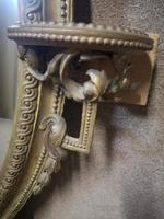 Victorian Gilt & Gesso Overmantle Mirror c.1870 (8 of 11)