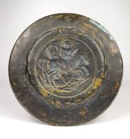 16th Century Alms Dish Depicting George & The Dragon (3 of 4)
