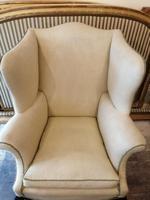 19th Century Winged Walnut Armchair (5 of 7)