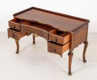 Quality Queen Anne Style Walnut Dressing Table & Mirror c.1920 (11 of 14)