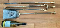 Mid Victorian Fire Irons (5 of 5)