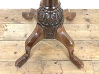 Antique 19th Century Mahogany Torchiere (5 of 7)