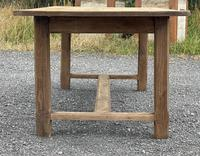 Large French Bleached Farmhouse Dining Table (3 of 26)