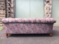 Antique English Upholstered Chesterfield Sofa (8 of 12)