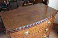Mahogany Bow Front Chest of Drawers. Very Good Quality (3 of 7)