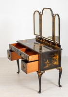 Queen Anne Style Chinoiserie Dressing Table & Chair (2 of 22)