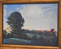 Landscape At Daybreak, Oil Painting by Sylvie Plessy (3 of 6)