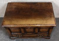 Titchmarsh & Goodwin Oak Miniature Fall-Front Dower Chest RL21422 (4 of 11)