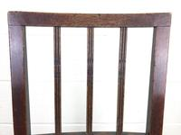 Set of Six 19th Century Welsh Oak Farmhouse Chairs (6 of 14)