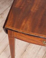 George III Oval Mahogany Pembroke Table (7 of 9)