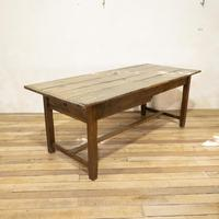 George III Oak Country Refectory Farmhouse Table (2 of 14)