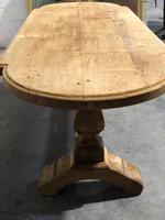 Large Oak Farmhouse Table with Extensions (22 of 30)