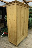 Fabulous & Large Old Pine 'Knock Down'  Double Wardrobe (3 of 15)