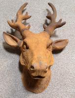 Cast Iron Stags Head, Cast Iron Garden Ornament (6 of 7)