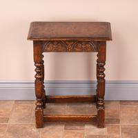 Carved Oak Joint Stool (8 of 15)