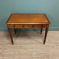 Quality Heal & Son Victorian Mahogany Antique Writing Table (5 of 8)