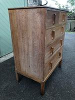Antique Limed Oak Heals Chest of Drawers (2 of 10)