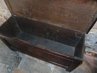 Early Oak Paneled Front Coffer (5 of 7)