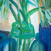 Large Still Life with Lillies – Oil on Canvas (4 of 8)
