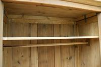 Quality! Large Old Pine Double 'Knock Down' Wardrobe - We Deliver! (8 of 17)