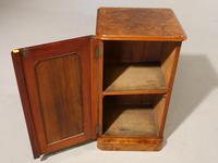 A Beautifully Figured Mid 19th Century Walnut Cupboard (4 of 5)
