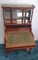 Edwardian Inlaid Mahogany Bonheur Du Jour Desk (3 of 7)