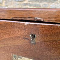 Antique Military Campaign Teak Chest of Drawers (10 of 21)
