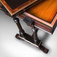 Antique Card Table, Ebonised, Games, Gillow & Co, Aesthetic Period c.1875 (3 of 12)