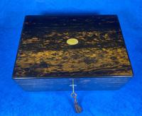 Victorian Coromandel Box with Mother of Pearl Escutcheons (13 of 14)