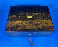 Victorian Coromandel Box with Mother of Pearl Escutcheons (13 of 14)
