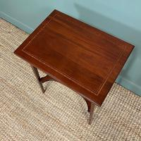 High Quality Edwardian Inlaid Antique Card Table (2 of 6)