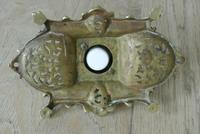 Fine William Tonks & Sons Marine Brass Inkwell c.1885 (5 of 7)