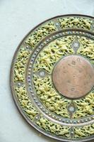 Indian Decorative Copper & Brass Tray (10 of 11)