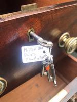 Antique Mahogany Pedestal Writing Desk (7 of 11)