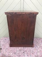 Antique Small Walnut Wellington Collectors Chest (10 of 10)