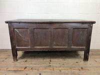 Antique Carved Oak Coffer (13 of 13)