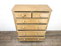 Large Vintage Pine Chest of Drawers (3 of 8)