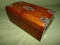 Solid Figured Oak Games Box + Accessories c.1890 (5 of 18)