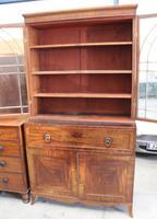 Large Mahogany Regency Secretaire Bookcase c.1820 (6 of 7)