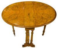 Fine Burr Walnut Sutherland Table (6 of 6)