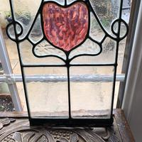Antique Stained Glass Panel (4 of 12)