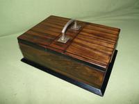 Macassar Ebony Jewellery / Trinket / Cigar Box c.1900 (7 of 11)