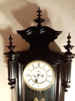 Ebonised Vienna Wall Clock. Gebruder Resch (6 of 7)