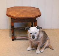 Small Oak Parquetry Top Table (6 of 10)